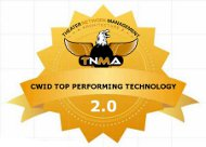 TNMA 2.0 CWID Top Performing Technology